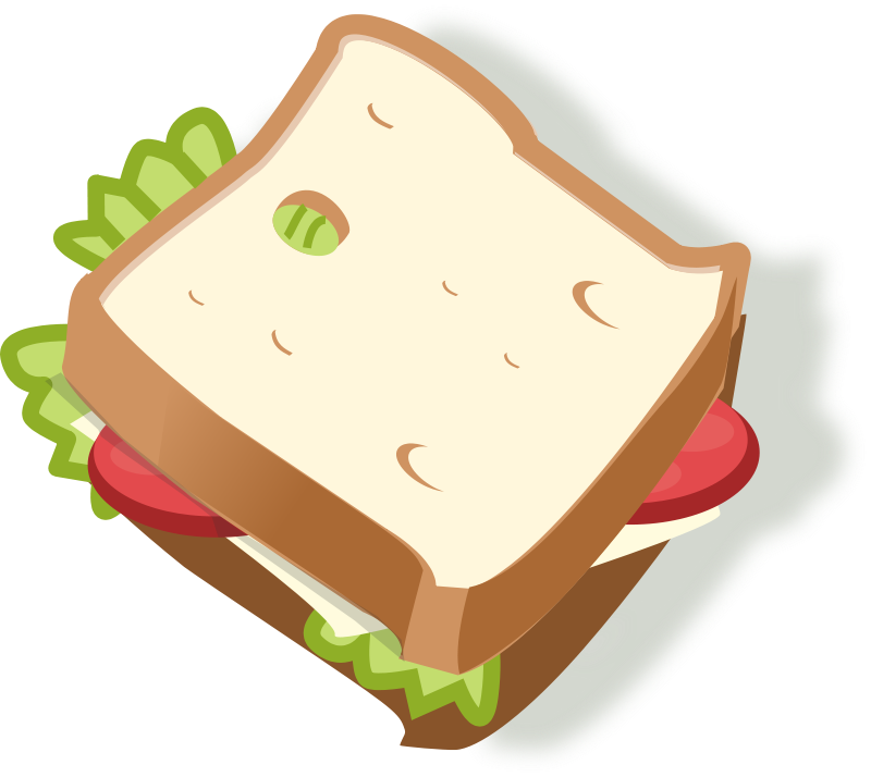 belegtes brot clipart - Belegtes Brot PNG