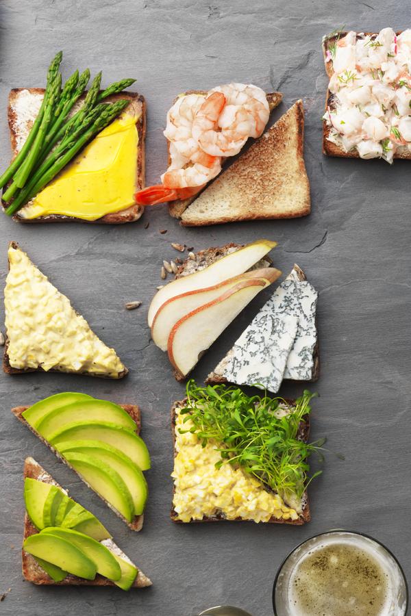 Favorit der Wikinger: Rezept für belegte Brote - Belegtes Brot PNG