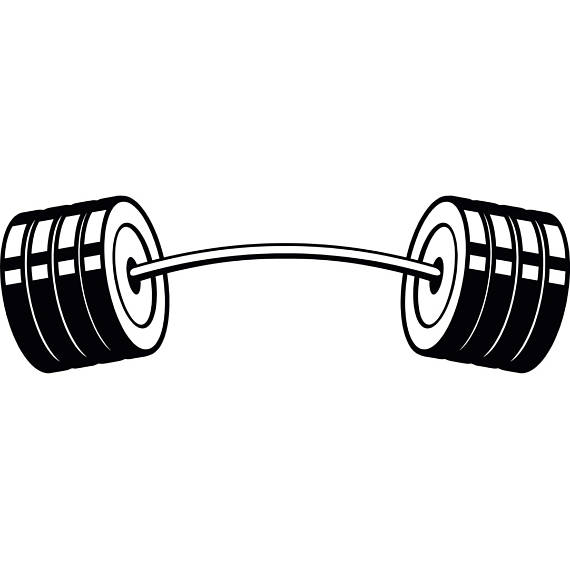 Bent Barbell PNG - 155607