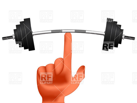Bent Barbell PNG - 155609