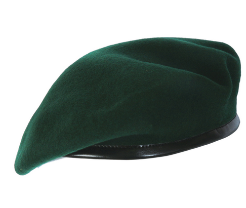 FRENCH STYLE BERET, HAT - Olive PlusPng.com  - Beret PNG