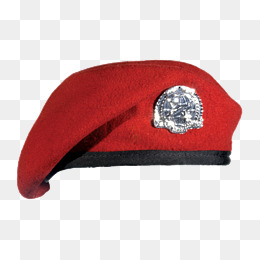 Red Berets, Red, Berets, Creative Hat PNG Image and Clipart - Beret PNG