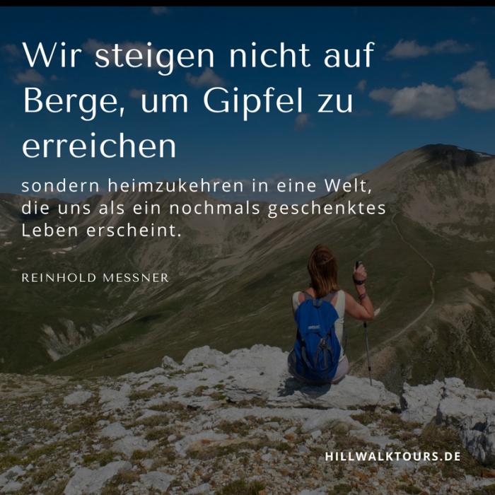 zitate wandern frau auf berggipfel - Berg Erklimmen PNG