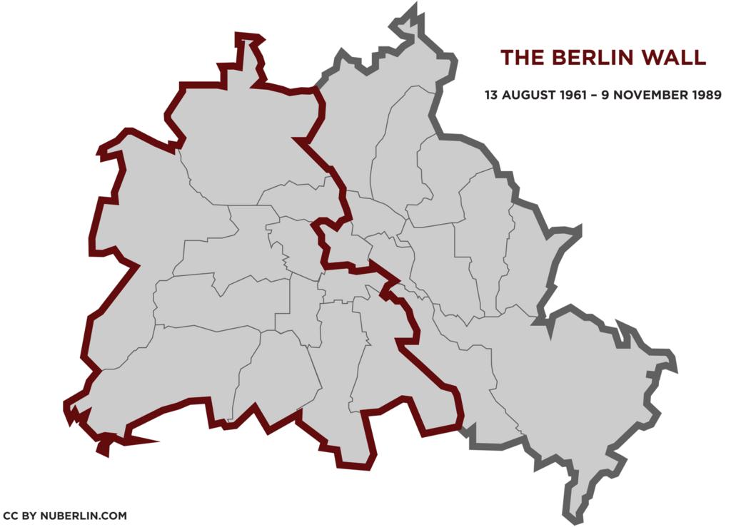 The Berlin Wall - Berlin Wall PNG