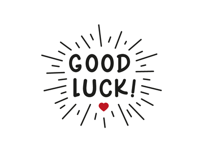 Good Luck | T-Shirt - Best Of Luck PNG