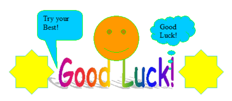 Best Of Luck PNG - 88662
