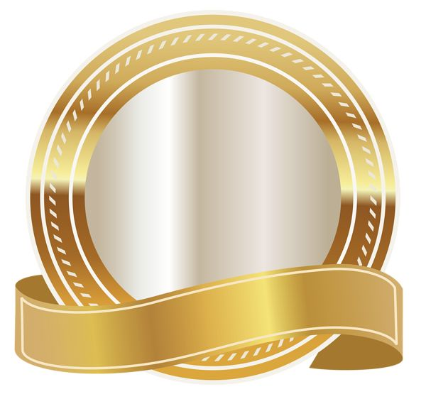 Ribbon Png, Gold Ribbons, Cli