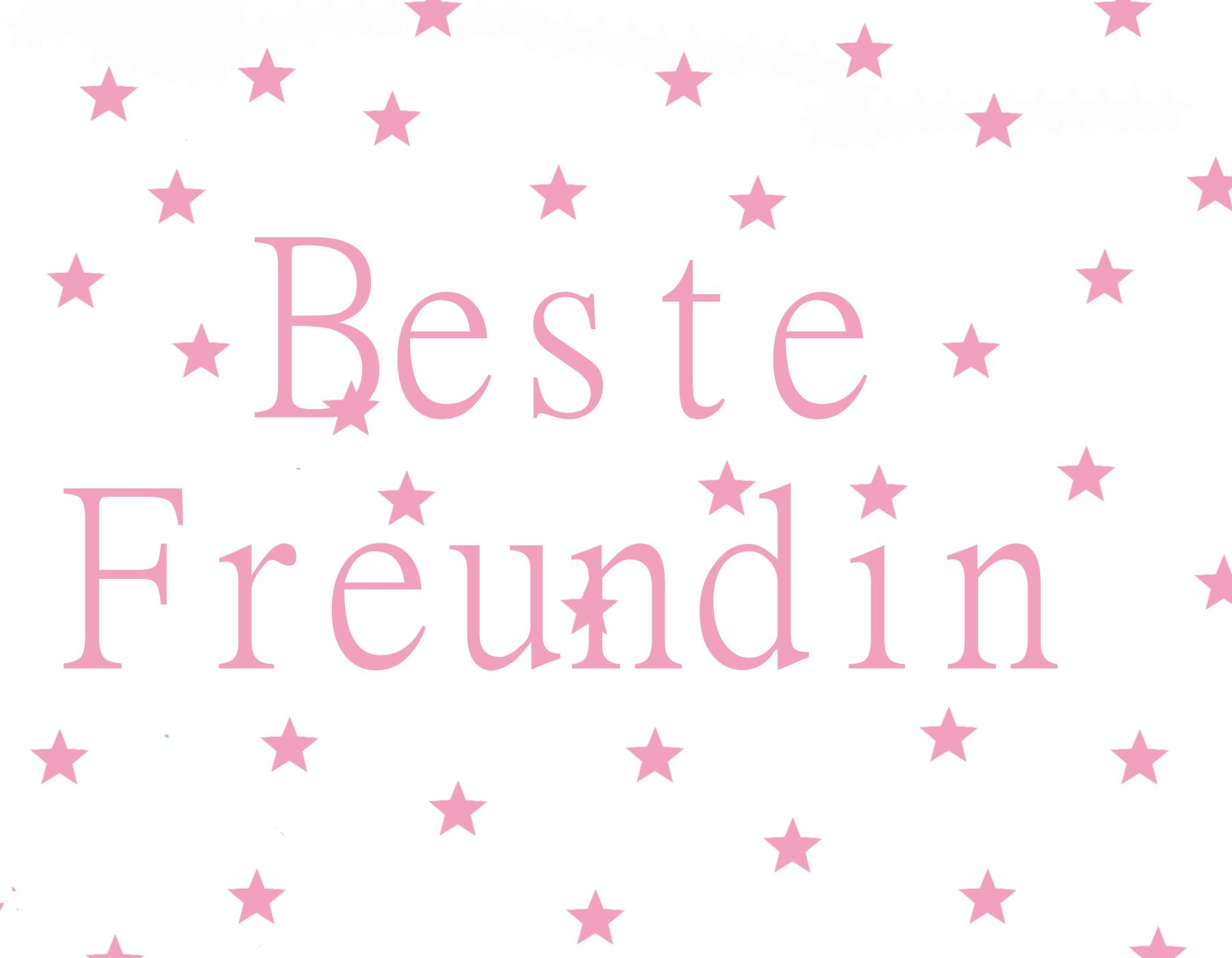 Postkarte Beste Freundin - Beste Freundin PNG