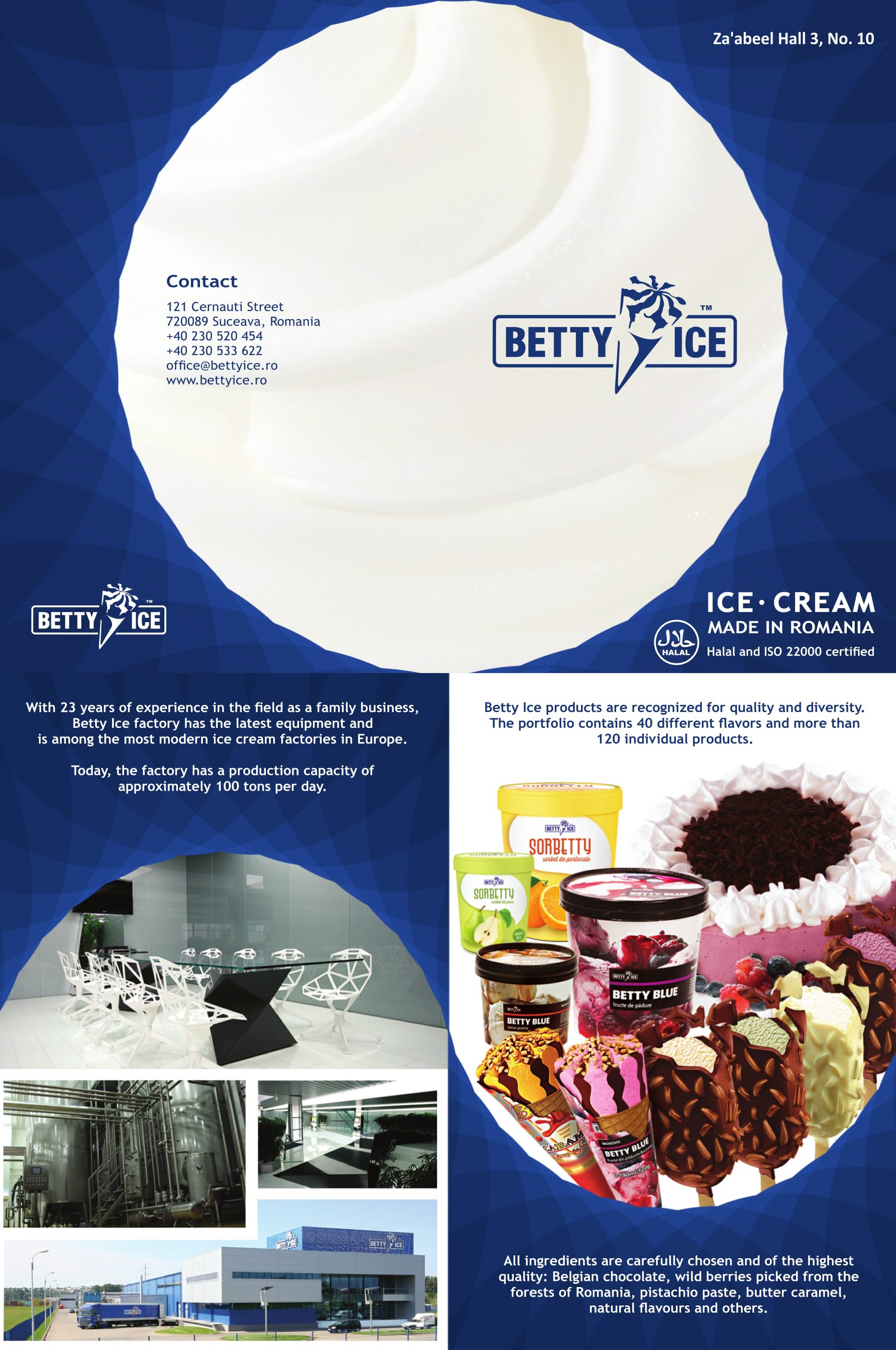 Betty Ice Brochurre - Betty Ice PNG