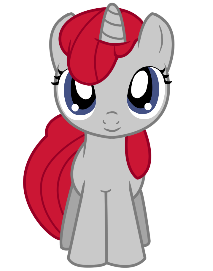 My 10th Vector: Filly Bianca, Center View by FavoriteArtMan PlusPng.com  - Bianca Vector PNG