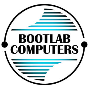 Bootlab Computers Logo Vector - Bicester Computers Vector PNG