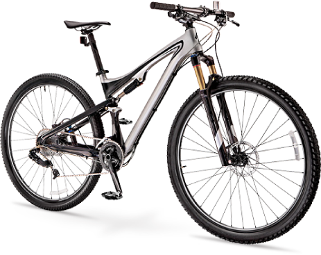 Black Bicycle PNG Transparent image - Bicycle PNG
