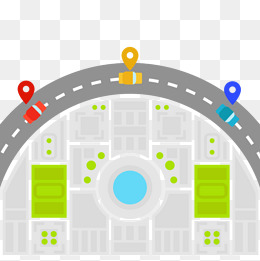 Vector turning traffic, Hd, Vector, Baidu Map PNG and Vector - Bidu Vector PNG