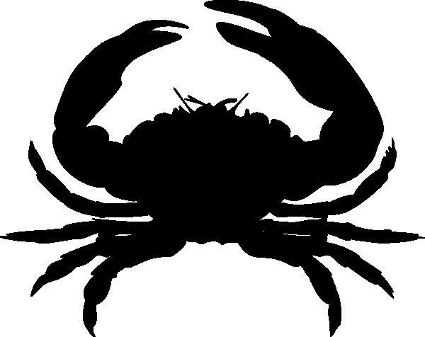 PNG: small · medium · large - PNG Crab Black And White - Big And Small PNG Black And White