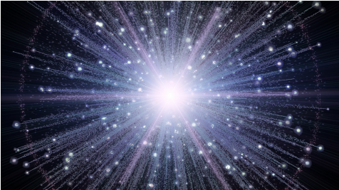 An artist rendition of the big-bang , a cos- mological theory that  postulates - Big Bang Explosion PNG