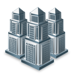 buildings, businesses, city, companies icon - Big Building PNG