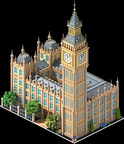File:Big Ben.png - Big Building PNG