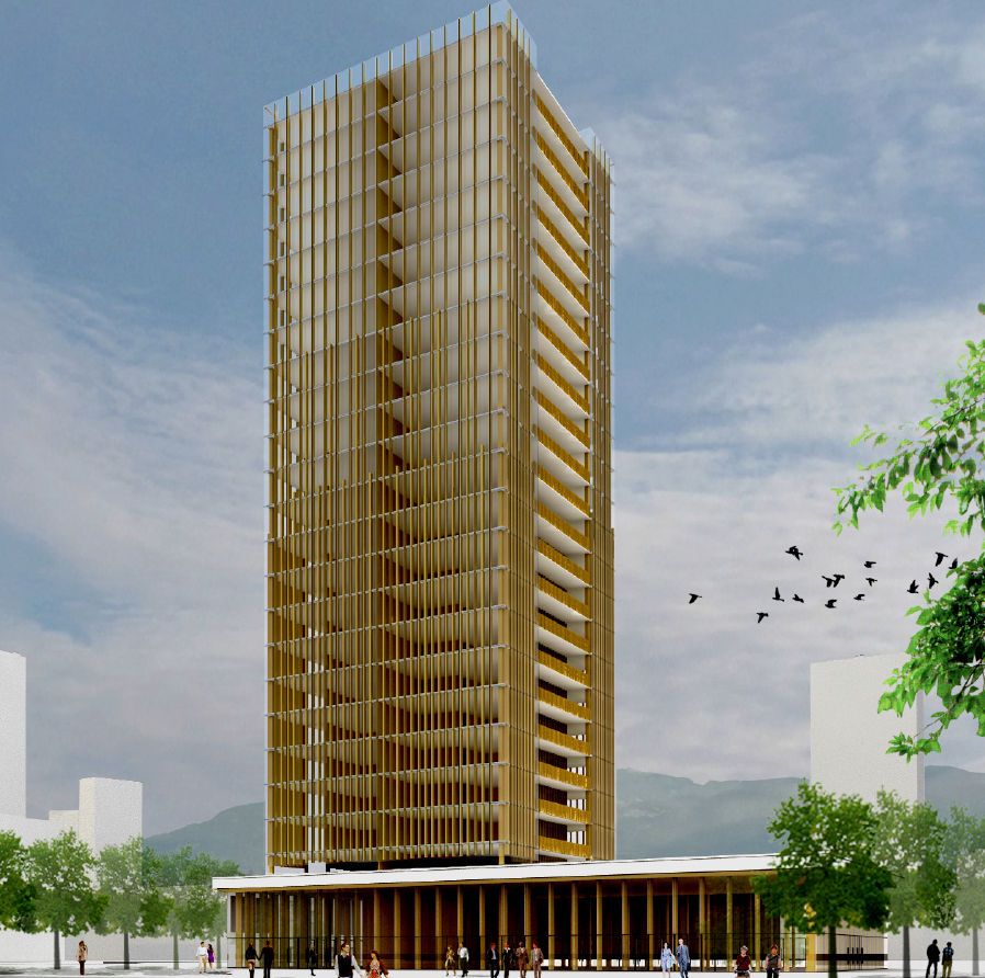 Image Credit: Michael Green Architecture - Big Building PNG