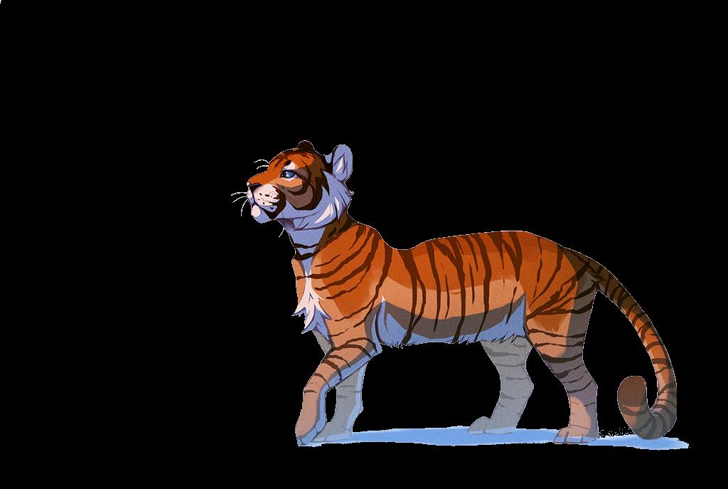 Big cat.png - Big Cat PNG