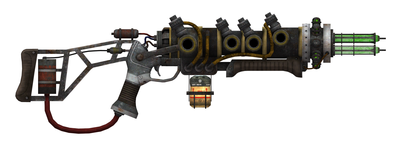 Fallout NV Plasma Rifle - Big Guns PNG
