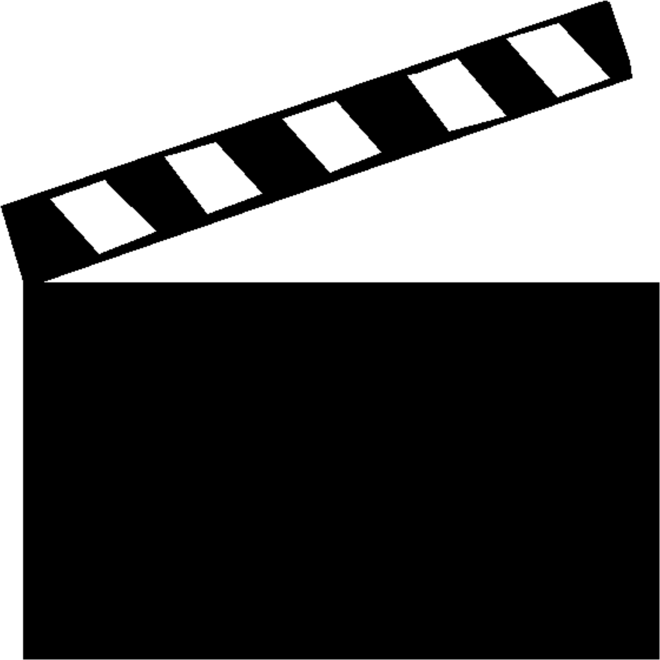 Clapperboard PNG - 4465