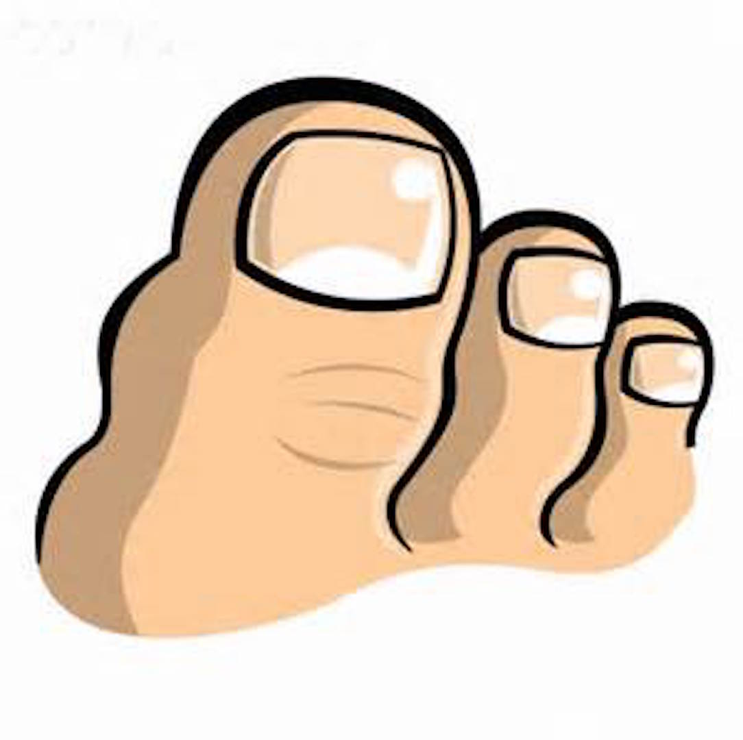 Big Toe PNG - 60074