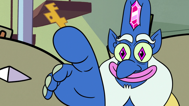 File:S2E25 Glossaryck with a key in his big toe.png - Big Toe PNG