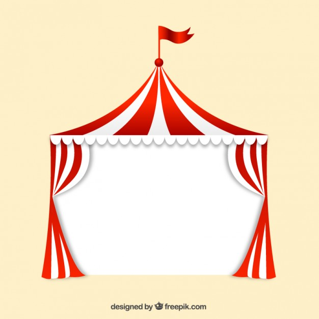 Big top circus Free Vector