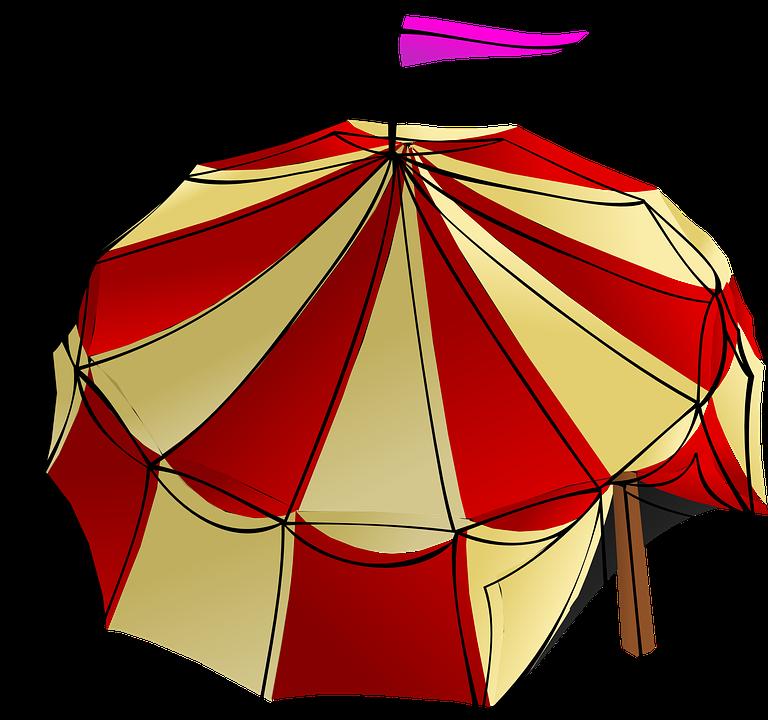 big top circus tent festival circus tent - Big Top PNG Free