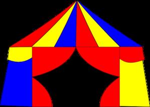 Big Top Tent Clip Art - Big Top PNG Free