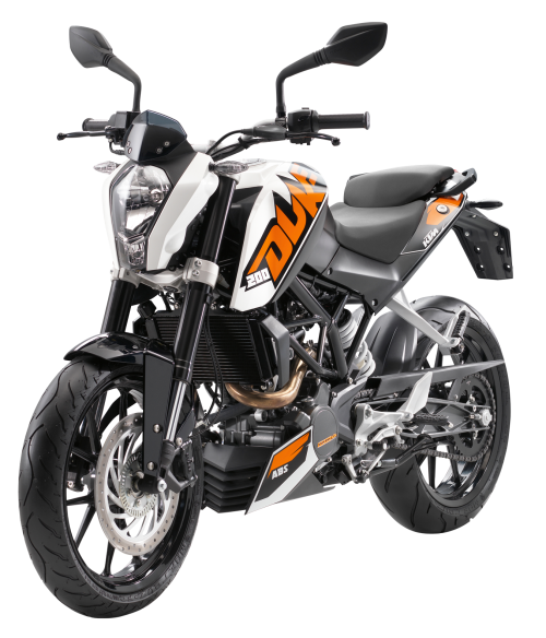 KTM 200 Duke Motorcycle Racing Bike PNG Image - Bike Race PNG