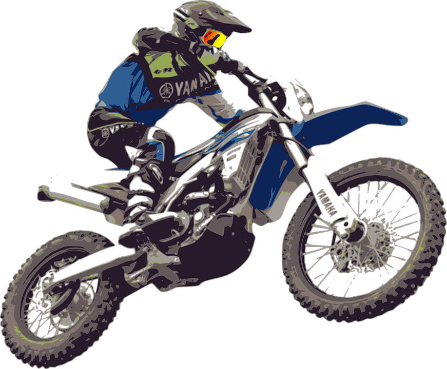 motocross motorcycle bike motorbike sport race - Bike Race PNG
