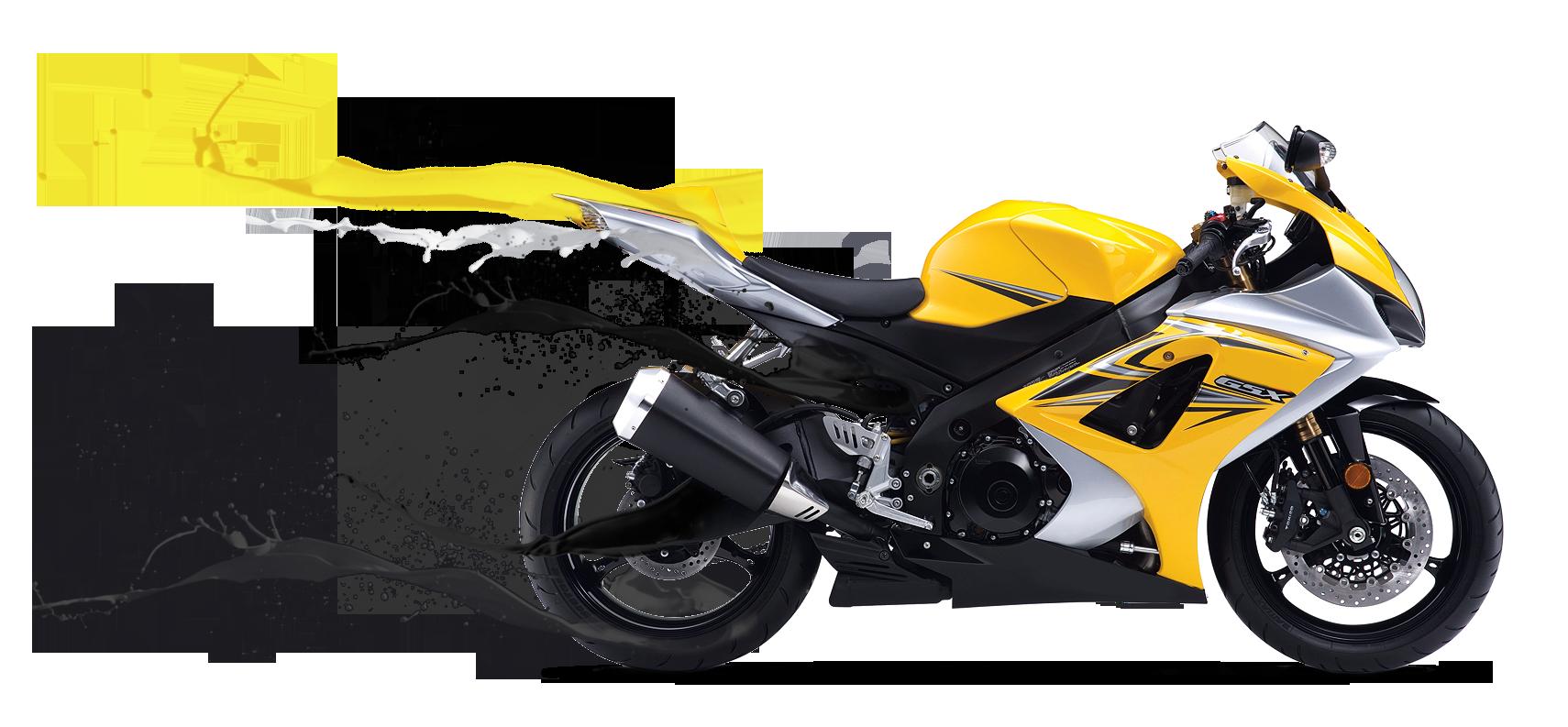 Motorbike PNG File
