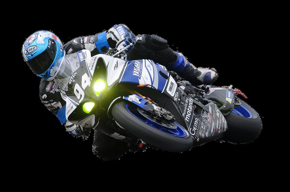 Motorcycle Racer Racing Race Speed Bike Motorcycle - Bike Race PNG