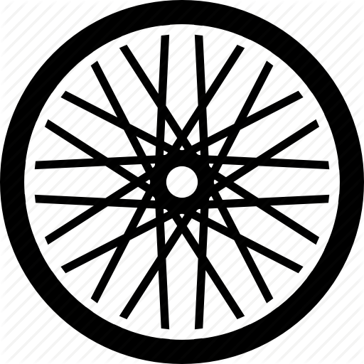 bicycle, bike, cycling, equipment, part, tire, wheel icon - Bike Tire PNG