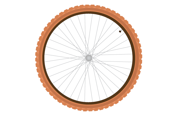 Bike Tire Vector - Bike Tire PNG
