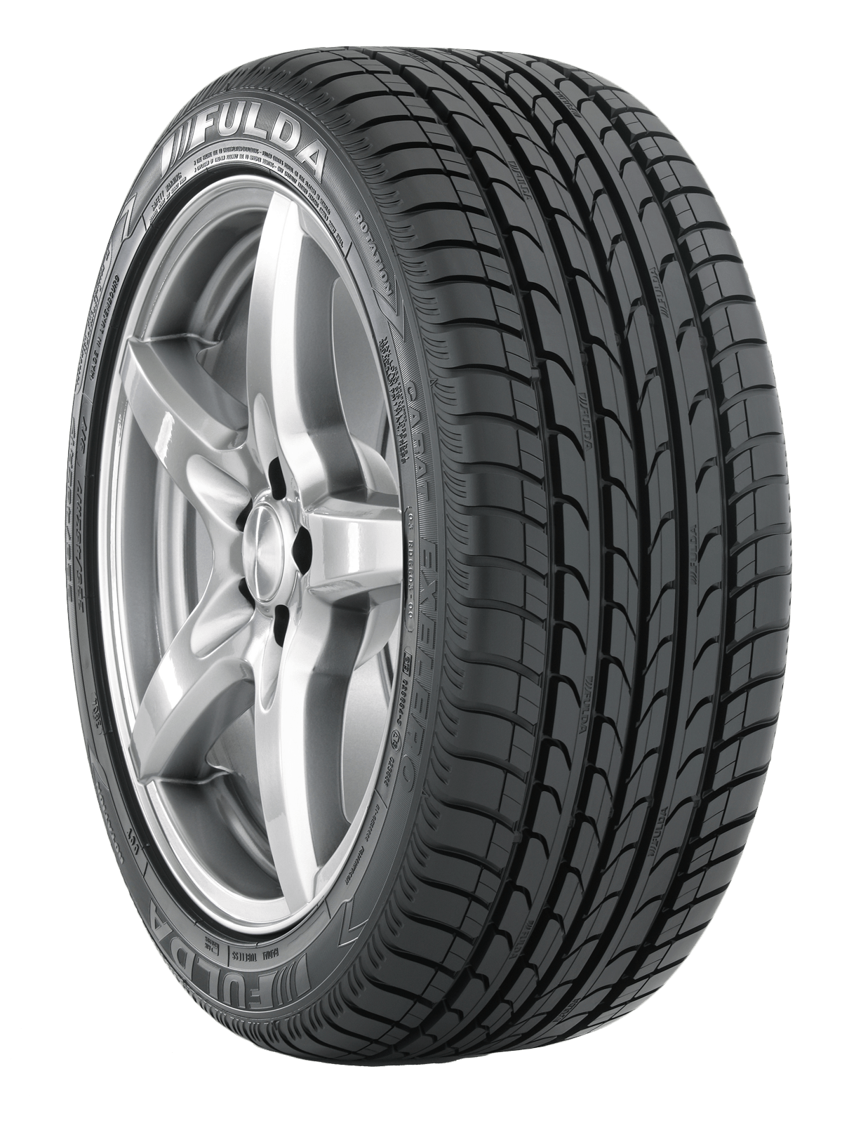Fulda Tyre - Bike Tire PNG