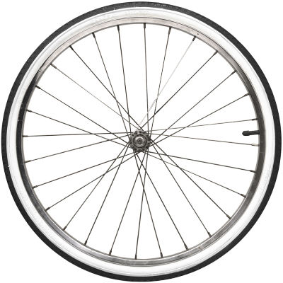 Please Note - Bike Tire PNG