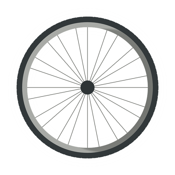 wheel tire bicycle round bike - Bike Tire PNG