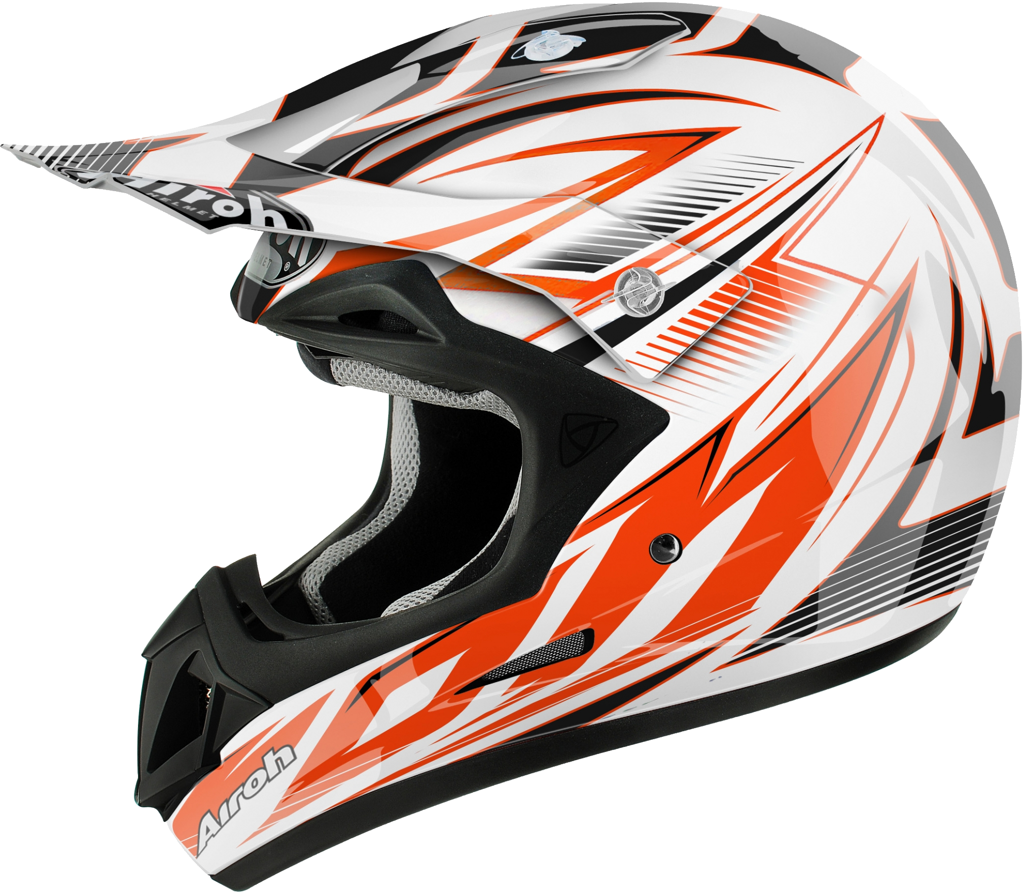 Full face bicycle helmet PNG