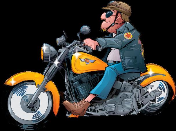 Bikers PNG HD - 123159