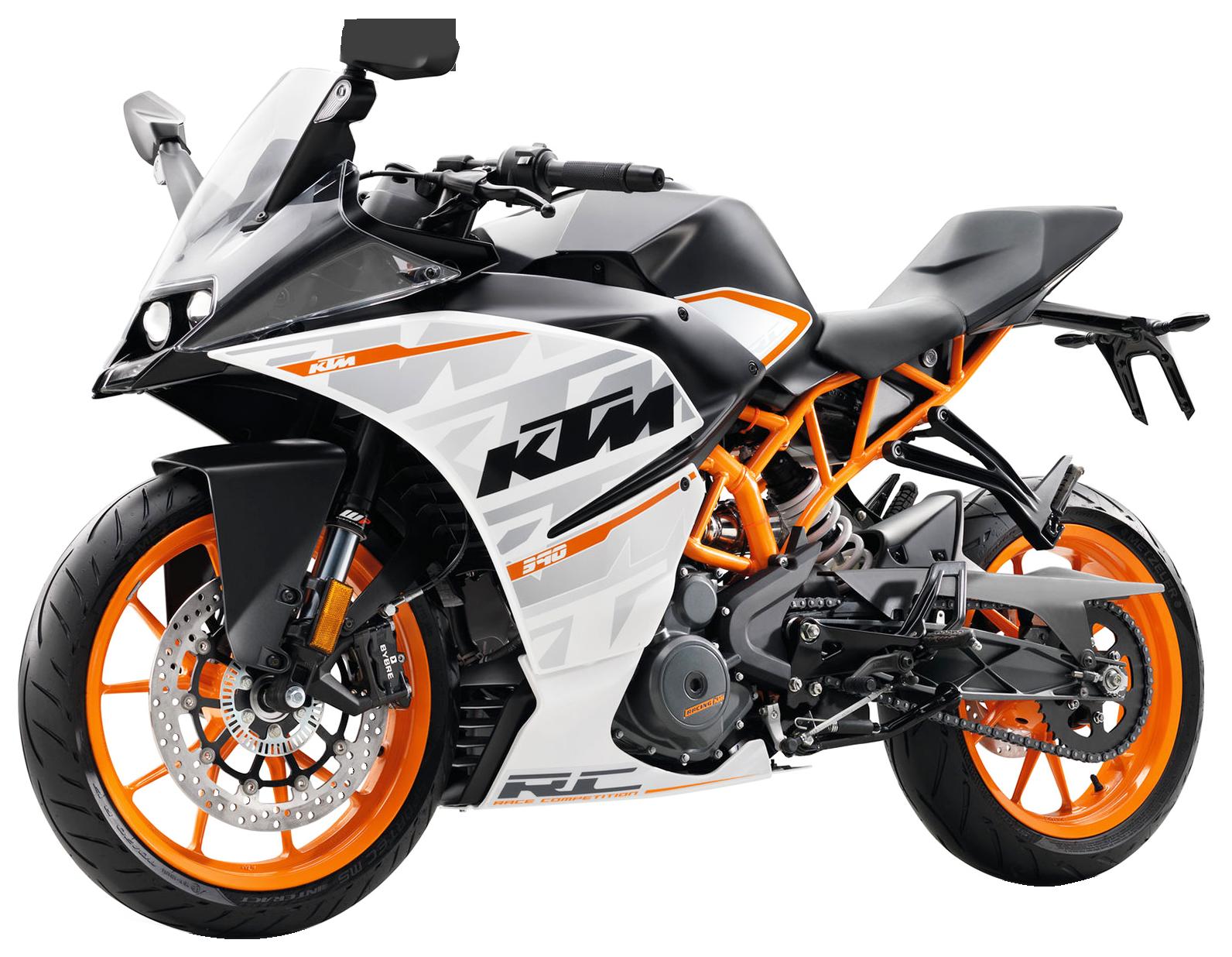 KTM RC 390 Motorcycle Bike PNG Image - Bikers PNG HD