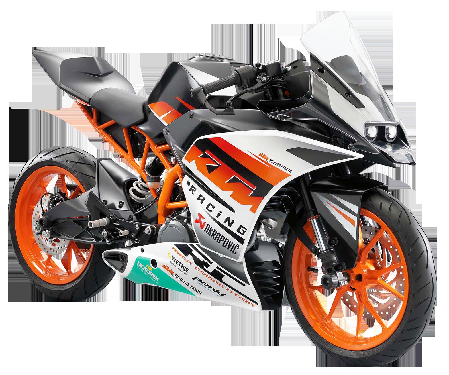 KTM RC390 Motorcycle Bike PNG Image - Bikers PNG HD
