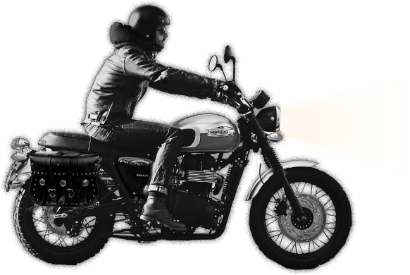 Motorcycle Rider - Bikers PNG HD