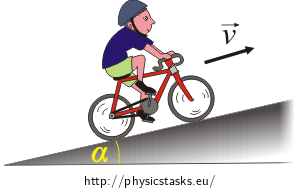 Biking Uphill PNG - 81933