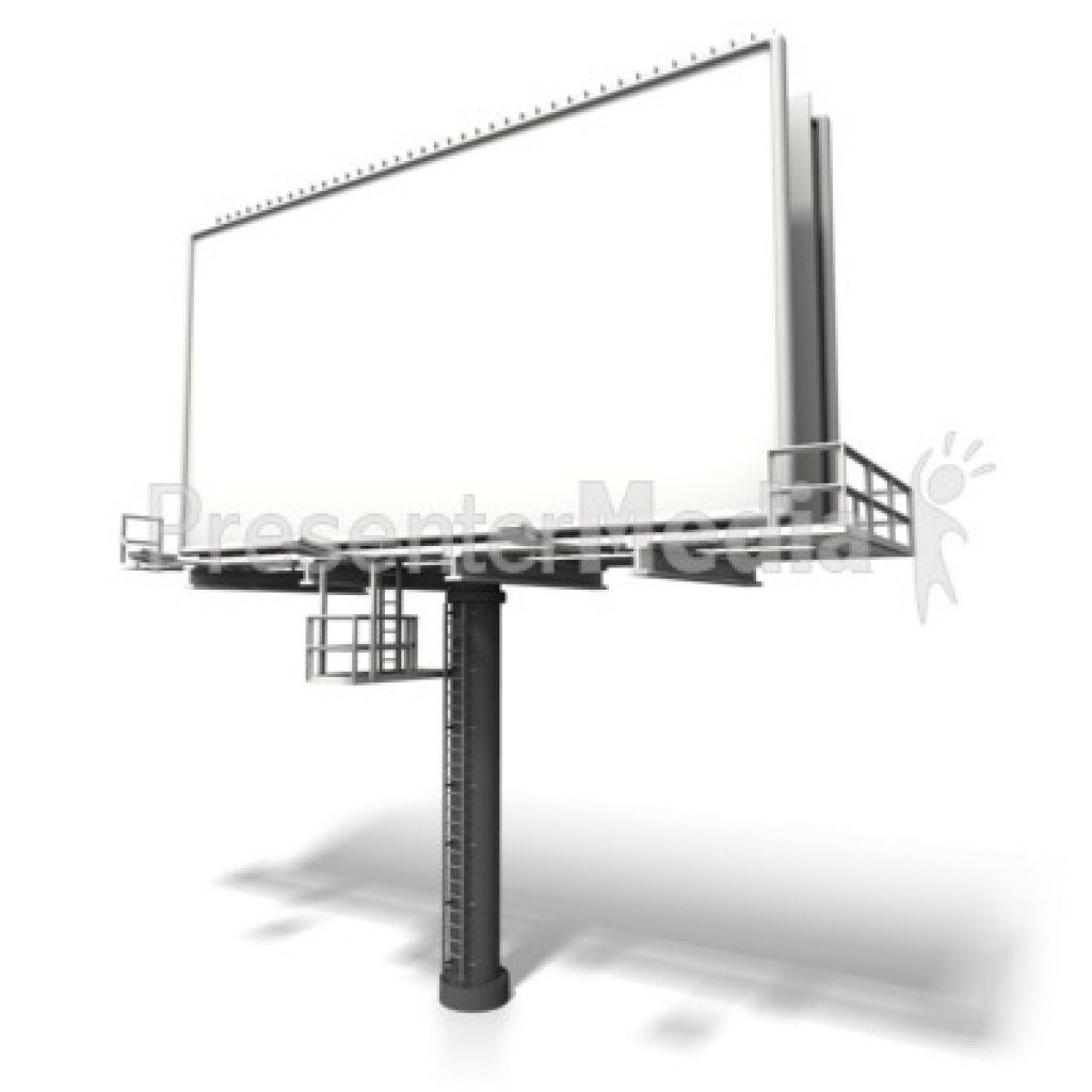 angled billboard display signs and symbols great clipart forBest Of PNG  billboard clip art Free Use Clipart for Kids - Billboard PNG