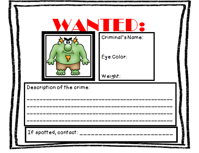 3 billy goats gruff wanted poster.PNG 674×520 - Billy Goat Gruff PNG