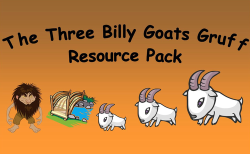 The Three Billy Goats Gruff Resource Pack by bestprimaryteachingresources -  Teaching Resources - Tes - Billy Goat Gruff PNG