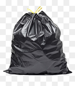 full of black garbage bags - Bin Bag PNG