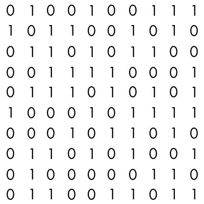 binary code computer code pattern in Photoshop - Binary Code PNG